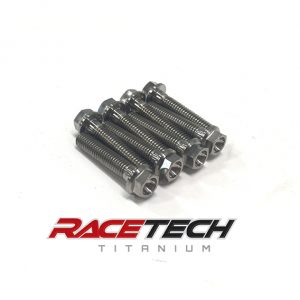 Titanium Alternator Cover Bolts (04-07 Honda CBR1000RR)